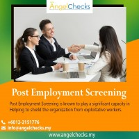Post Employment Screening